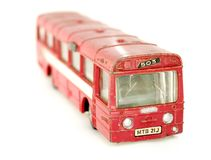 Old toy bus Stock Image