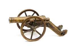 Old toy cannon Stock Photos