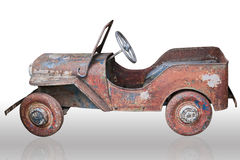 Old toy car Royalty Free Stock Images