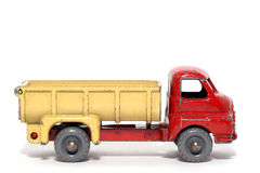 Old toy car Bedford 7Ton Tipper Royalty Free Stock Photo