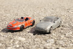 Old Toy Car Royalty Free Stock Photography