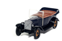 Old toy car Volvo Jakob 1927 Royalty Free Stock Photos