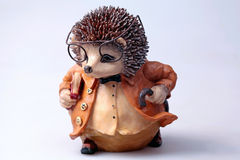 Old toy hedgehog Royalty Free Stock Image