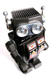 Old toy tin robot #3 Stock Image