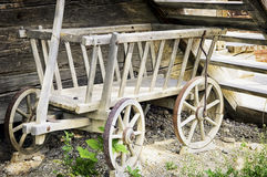 Old toy wagon Royalty Free Stock Image
