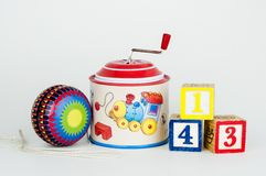 Old toys Royalty Free Stock Photo