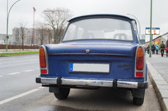 Old trabant car Royalty Free Stock Image