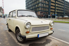 Old trabant car Stock Images