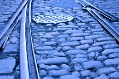 Old Tracks Royalty Free Stock Photo
