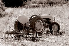 Old Tractor. 1 Royalty Free Stock Photos