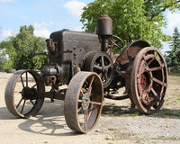 Old tractor. Lanz, germany royalty free stock image