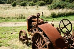 Old Tractor. Royalty Free Stock Image
