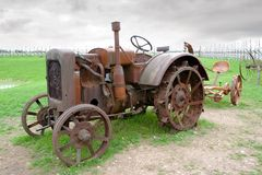 Free Old Tractor Stock Photography - 15734142