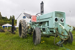 Old tractor Royalty Free Stock Photo