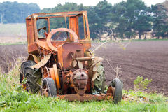 Old tractor Stock Photo