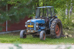 Old tractor Stock Photography