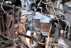 Old tractor engine Royalty Free Stock Photography