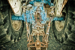 Old tractor from a farm Royalty Free Stock Photography