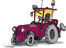 Old tractor. Old but friendly looking tractor Royalty Free Stock Images