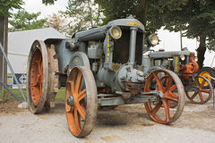 Old tractor Landini Royalty Free Stock Images
