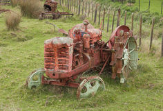 Old tractor. Left to the elements Royalty Free Stock Image