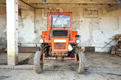 Old tractor model Royalty Free Stock Photography