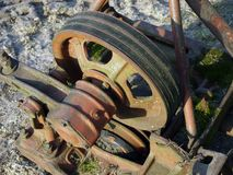 V-belt transmission 2 Royalty Free Stock Photos