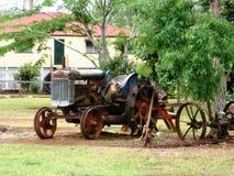 Old Tractor near Atherton Queensland Australia stock photos