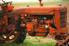 Free Old Tractor On The Farm Royalty Free Stock Photography - 56086977