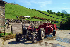 Old tractor Royalty Free Stock Images