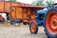 Old tractor royalty free stock photography
