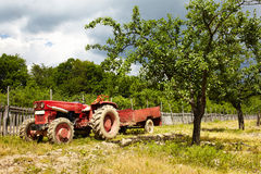 Old tractor Royalty Free Stock Photos