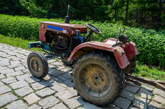 Old tractor Stock Images