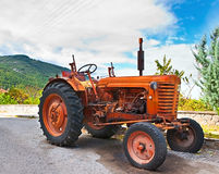 The old tractor Stock Image