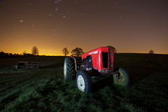 Old tractors in a dumping ground Stock Photography