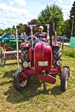 Old tractors at the Hessentag Stock Image
