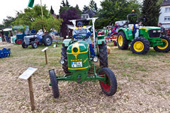 Old tractors at the Hessentag Royalty Free Stock Images