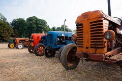 Old tractors Stock Photography