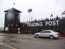 Old Trading Post Stock Image