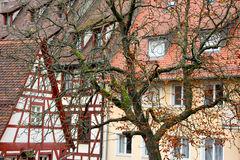 Old tradional german houses Royalty Free Stock Images