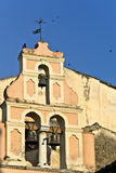 Old traditional buildings at Corfu Royalty Free Stock Photos