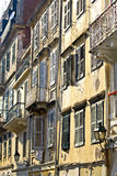 Old traditional buildings at Corfu Stock Photography