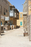 Old traditional buildings in egyptian town Stock Photos