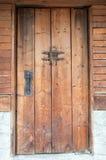 Old traditional Bulgarian door Stock Photos