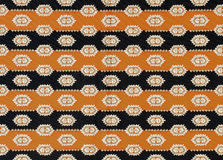 Old traditional choth as a pattern. Close-up Royalty Free Stock Photos
