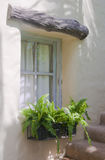 Old traditional country style window Royalty Free Stock Photography