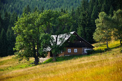 Old traditional czech house Royalty Free Stock Image