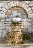 Old traditional drinking fountain Royalty Free Stock Image