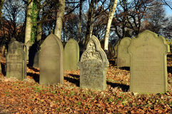 Old Traditional English Graveyard Stock Photography