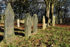 Old Traditional English Graveyard Stock Photos